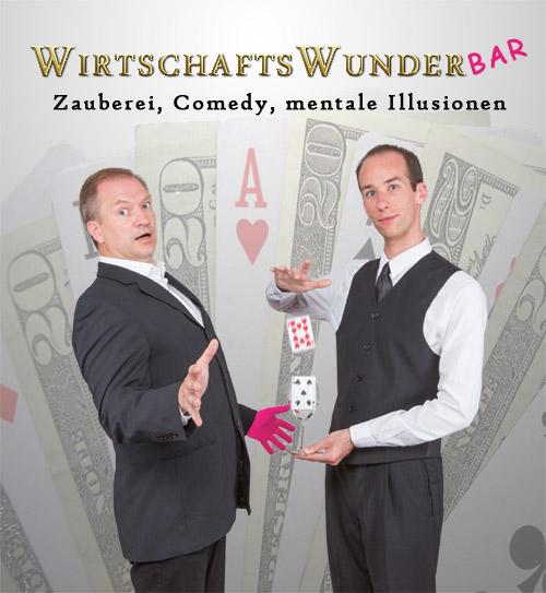 Comedy Zauberer Zauberkünstler für Veranstaltung buchen. Andreas Maier - Magier, Mentalist, Illusionist, Entertainer aus Wolfratshausen bei München. Firmenfeier, Hochzeit, Geburtstag, Firmenfeier.