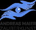 Logo Zauberer München, Rosenheim, Starnberg, Tölz, Augsburg buchen. Zauberer Andreas Maier: Zauberkünstler, Mentalist, Entertainer aus Wolfratshausen. Firmenfeier, Hochzeit, Geburtstag